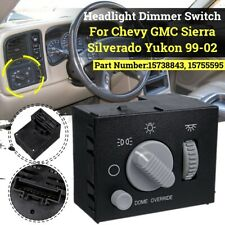 Headlight & Dome Light Dimmer Switch 15755595 For Chevy Silverado GMC