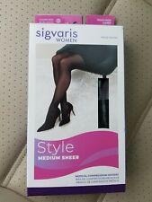 New in package Sigvaris medical Medium Sheer Natural Thigh High 20-30mmHg ML