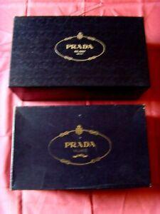 2 scatole vuote PRADA. Ottime da riponimento, da esposizione o da regalo