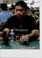 Johnny Chan-- signed photo - pose 12