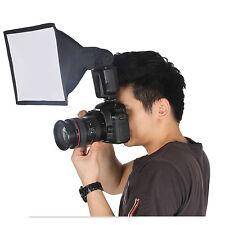 15 x17cm Portable Flash Diffuser Mini Flash Light Softbox Kit For DSLR Speedlite