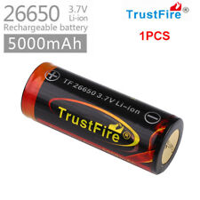 1pcs Trustfire 26650 3.7V-5000mAh Original Rechargeable Battery For Flashlight