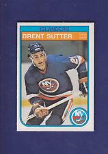 Brent Sutter RC 1982-83 O-PEE-CHEE Hockey #216 (NM+)