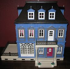 CUSTOMIZED PLAYMOBIL VICTORIAN DOLLHOUSE MANSION 5300 5305 5301 - ONE OF A KIND!