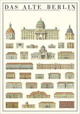Das Alte Berlin Poster Bild Kunstdruck 100x70cm - Kostenloser Versand