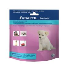 2 X Adaptil Junior Puppy Collar for Dogs 45cm Fits Necks up to 37.5cm Adjustable