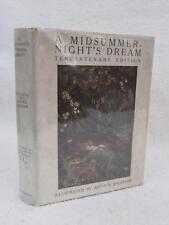 Shakespeare A MIDSUMMER-NIGHT'S DREAM 1929 Heinemann/Doubleday ARTHUR RACKHAM