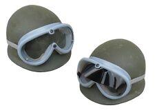 German Army Surplus Goggles Grey chopper motorcycle safety flyers helmet bike