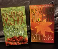 Rosamunde Pilcher Paperback Lot Voices in Summer & September