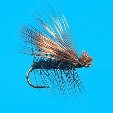 Hair Wing Caddis Black, 6 pcs. size 14