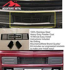 """M2M """"DURAMAX"""" Compat w/CHEVY 2015-19 Silverado 2500/3500 HD Bumper Grille Insert"""