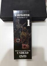 Warfighter WW2 Expansion #42 UNDEAD - DVG (slight damage)