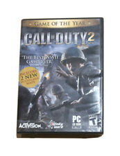 Call of Duty 2 (2005) Complete PC CD-ROM Game 6 Disc Set.