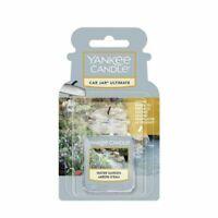 Yankee Car Jar New Car Scent Rub & Smell 3D Car Air Freshener Water Garden