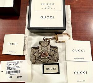 Gucci Ophidia GG Supreme Canvas Airpods Pro Case NEW in Box w Tags