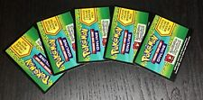 X5 Pokemon TCG Dragons Exalted Online Booster Pack UN-USED Codes *Ebay Message*