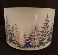 YANKEE CANDLE Winter Trees Large Jar Shade