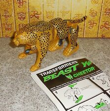 Transformers Beast Wars CHEETOR complete 10th Anniversary Figure w manual