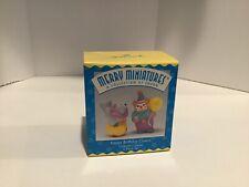 Hallmark Keepsake Merry Miniatures - Happy Birthday Clowns #2 - 1996 Qsm8114