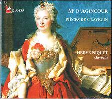 D'AGINCOUR Harpsichord Work HERVE NIQUET D'Agincourt CD Delume Cembalo Clavecin