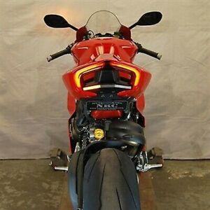 Ducati Panigale V4S New Rage Cycles Fender Eliminator Kit tail light LED NRC