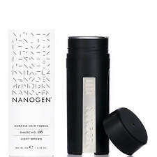 Nanogen Hair Thickening Fibres Light Brown 30g 2 months supply Natural Keratin