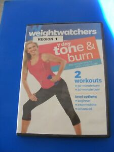 WEIGHT WATCHERS, 7 DAY TONE AND BURN, (dvd)