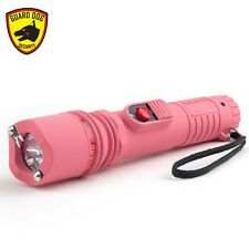 Guard Dog Inferno – 6,000,000 4-Pronged Flashlight Stun Gun (Pink)