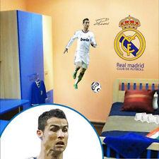 C Ronaldo Wall Stickers Real Madrid Football Club Vinyl Art Logo Décor Soccer