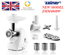 ~! NEW Electric Kitchen ZELMER ZMM4048W MEAT MINCER silent SHREDDER !~