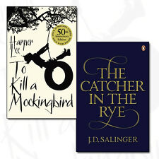 To Kill A Mockingbird and The Catcher in the Rye 2 Books Collection Set NEW