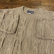 New listing Vintage Coogi Australia Down Under Blue Sweater - Tan Size Xl Cosby
