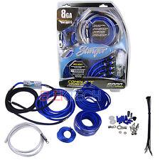 Stinger SK6681 Power Amplifier Wiring Kit 8 Gauge 800 Watt 70 Amp Installation