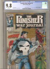 Punisher War Journal #2 CGC 9.8 TOUGH NEWSSTAND Daredevil