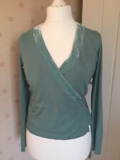 Boden Evening Wrap Top Size 14
