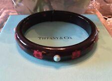 NEW Tiffany & Co Paloma Picasso Zellige Cabochon Amazonite Bangle Bracelet ITALY