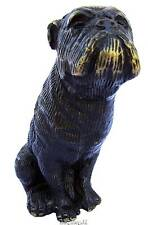 "Boxer Dog Bronze Sculpture Statue Figurine Ornament 12.5 cm / 5"" Tall"