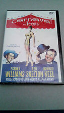 "DVD ""CARNAVAL EN TEXAS"" PRECINTADA CHARLES WALTERS ESTHER WILLIAMS RED SKELTON"