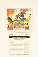 Pokemon Omega Ruby Nintendo 3DS CASE ONLY NO CARTRIDGE INCLUDED