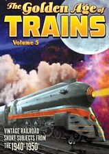 Trains: The Golden Age of Trains, Volume 5 NEW DVD