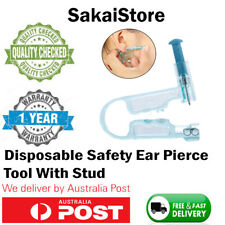 Disposable Safety Ear/Body Piercing Gun Unit Tool With Ear Stud No Pain Asepsis