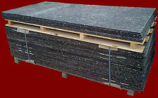 Bautenschutzmatte Gummimatten Poolunterlage Gummimatte 10 mm 1,00/2,00m