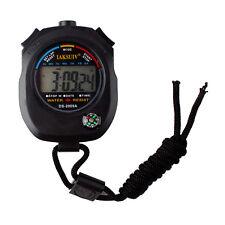 Digitale Multifunktion Stoppuhr Taschenuhr Wecker Stopp Zeitmesser NEU~