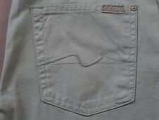 SEVEN 7 FOR ALL MANKIND MENS CARSEN MINT BLUE COLORED STRAIGHT PANTS SIZE 28 NEW