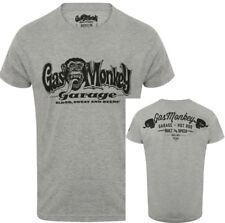 UFFICIALE GAS MONKEY GARAGE Essentials Uomo GMG MANI T-Shirt
