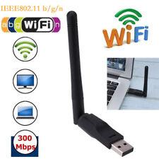 150Mbps USB 802.11n USB WiFi Wireless Adapter Card Wi-Fi Dongle W/ 2dbi Antenna