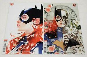 Batgirl Rebirth (2016) Issues #23 & 24 Joshua Middleton Variant Covers Lot/Set