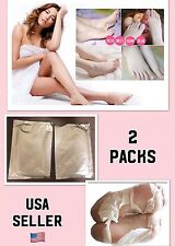 2 Packs USA SELLER Baby Foot Peeling Renewal Mask Remove Dead Skin Cuticles Heel
