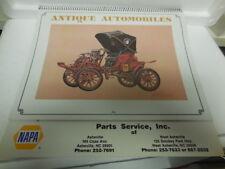 1986 Wall Calendar- Antique Automobiles  Parts Service,Inc.Asheville.Ford 1906