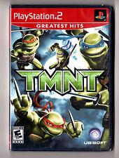 PS2 Playstation 2 Game TMNT, NEW Sealed; Teenage Mutant Ninja Turtles